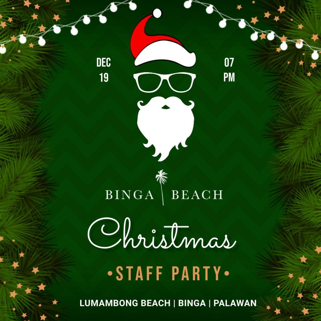 Binga Beach Christmas Party